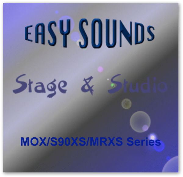 MOX / S90XS / MRXS 'Stage & Studio' (Download)