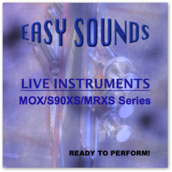 MOX / S90XS / MRXS 'Live Instruments' (Download)