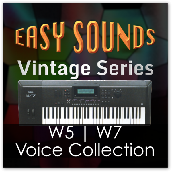 Yamaha Vintage 'W7/W5 Voice Collection' (Download)