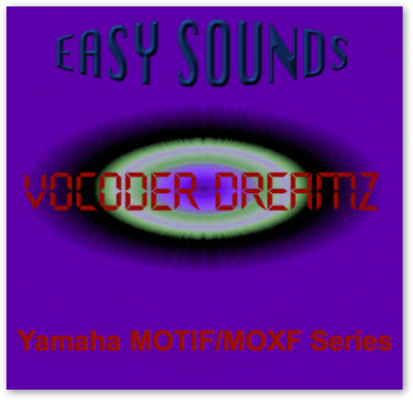 MOTIF XF / XS / MOXF 'Vocoder Dreamz' (Download)