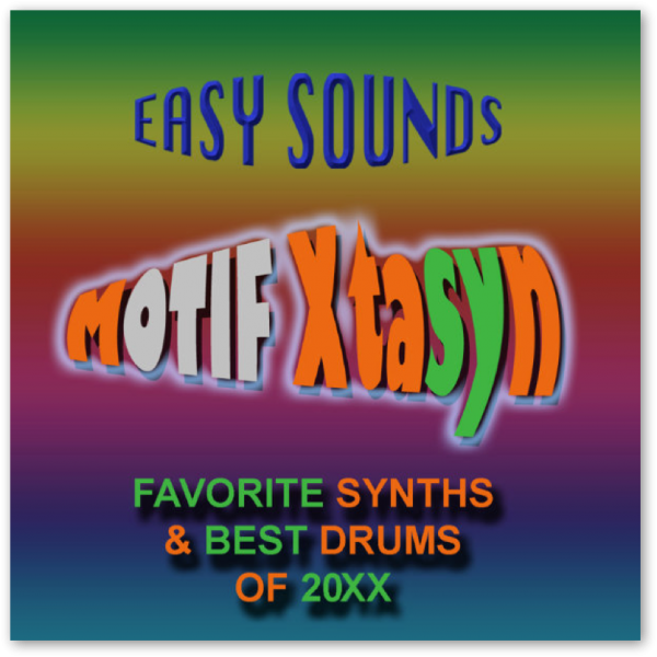 MOTIF XF / XS / MOXF 'Xtasyn' (Download)
