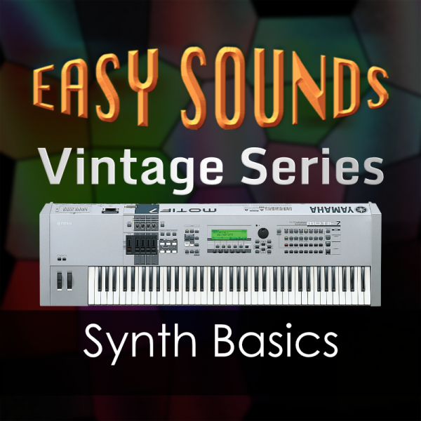 Yamaha Vintage 'MOTIF Synth Basics' (Download)
