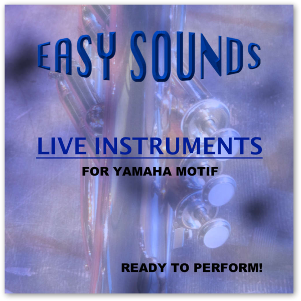 MOTIF XF / XS / MOXF 'Live Instruments' (Download)