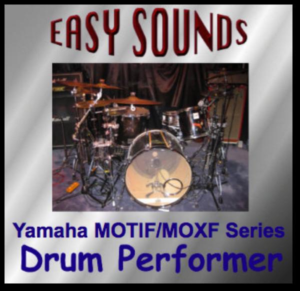 MOTIF XF / XS / MOXF 'Drum Performer' (Download)