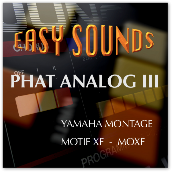 MOTIF XF / XS / MOXF 'Phat Analog III' (Download)