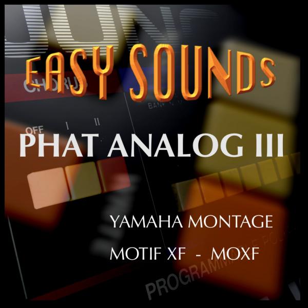 MOTIF XF / XS / MOXF 'Phat Analog III' (Download)