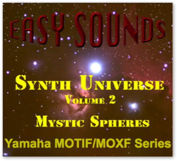 MOTIF XF / XS / MOXF 'Mystic Spheres' (Download)